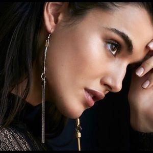 Free people keyhole dangle earrings